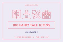 Line Icons - Fairy Tale Product Image 1