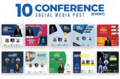 Event & Conference 10 Social Media Post Product Image 1