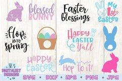 Easter Bundle SVG | Easter SVG | Easter Bunny Product Image 3