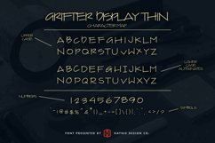 Grifter Architect Blueprint Handwriting Font Product Image 5