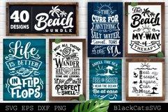 Beach Bundle SVG 40 designs Summer SVG bundle Product Image 2