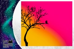 Skinny Tumbler Ombre Bird Wrap Sublimation Product Image 4