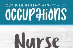 Nurse practitioner svg - an NP svg with heart for crafters Product Image 3