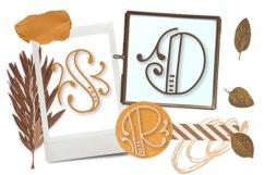 Monobam - Round Monogram Font Product Image 6