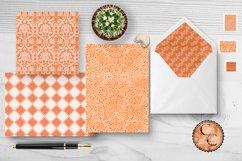 18 Richly Orange Digital Paper Pack Product Image 6