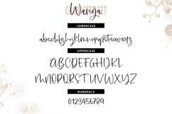 Wanoja | Unique Handwriting Script Font Product Image 3
