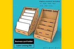 Business Card Holder - laser cut file Product Image 1