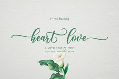 Heart Love   WEB FONT Product Image 1