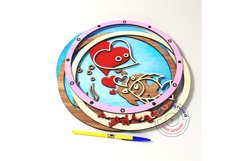 Child room sign, wall decor. Glowforge ready. Product Image 3