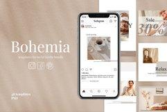Templates for social media | BOHEMIA Product Image 1