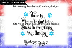 Dog text cut file, dog svg, dog cut file, paw print svg Product Image 3