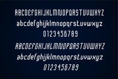 Femilia - Modern Serif Sports Font Typeface Product Image 3