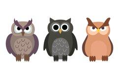 Owl Illustrations Product Image 1
