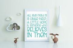 Slinky Bear - a cute handwritten font Product Image 4