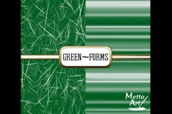Green Forms - 10 Digital Papers/Backgrounds Product Image 4