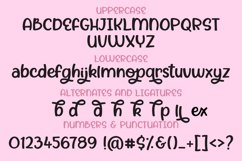 Honey Crackle, a bold chunky handwritten font Product Image 2