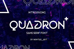 Quadron | Future Font Product Image 1