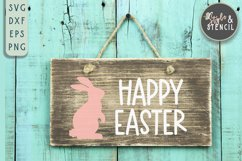 Bunny SVG | Easter | Rabbit Silhouette Product Image 4