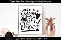 Craft Empire Design - Crafting SVG, Arts & Crafts Room SVG Product Image 1