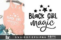 Black Girl Magic SVG | Black Woman SVG | Black Lives Matter Product Image 3