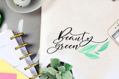 Blakeley Script Font & Watercolor Logos Product Image 3
