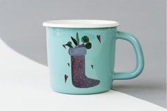 Christmas watercolor digital clipart, winter, lollipop Product Image 5