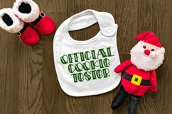Holiday Cookies - A Hand-Lettered Christmas Font Product Image 2