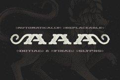Chimera Tail, font + illustration Product Image 6