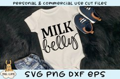 Milk Belly Baby SVG Product Image 1