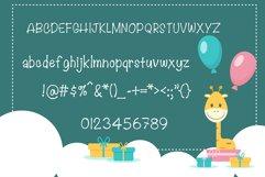 Lovely Giraffe Handwritten- cute kid font Kawaii style! Product Image 6