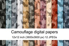 Camouflage seamless textures Product Image 1