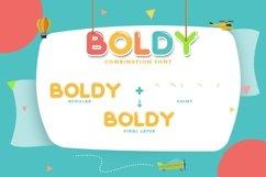Web Font Boldy Product Image 5