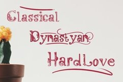 Dynastyan - 5 Font styles and 150 Swashes Product Image 2
