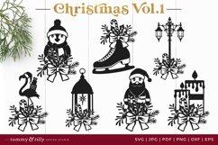 Vol.1 Christmas Bundle SVG Bundle Cut Files Product Image 2