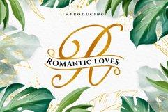 ROMANTIC LOVES MONOGRAM Product Image 1