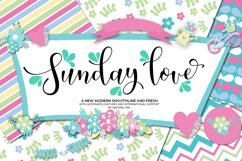 Sunday love Script Product Image 1