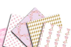 Cherry Blossom Digital Paper Product Image 3