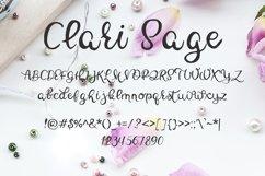 Clari Sage Font Product Image 2