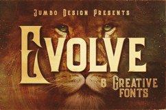 Evolve - Vintage Style Font Product Image 1