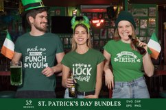 St Patrick's Day svg bundle eps png dxf Product Image 4