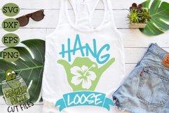 Hang Loose Shaka SVG Product Image 1