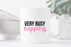 Funny Sleepy Quote SVG Bundle Volume 1 - Colorful Version Product Image 5