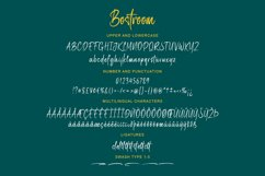 Bostroom - Brush Font Product Image 5