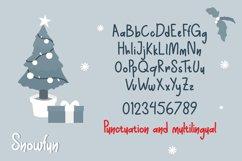 Snowfun Cute Winter Font Product Image 4