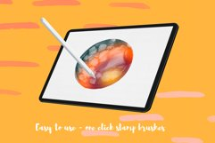 100 Watercolor Stamp Brushes for Procreate and PS Product Image 2
