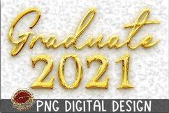 Sublimation Gold Graduate 2021 Product Image 1