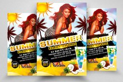 Summer Beach Party Flyer Product Image 1