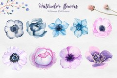 Winter. Watercolor collection. Product Image 9