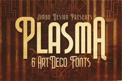 Plasma - ArtDeco Style Font Product Image 1
