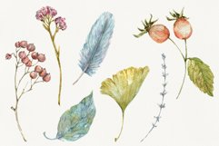 Autumn Time. Watercolor isolated cliparts Product Image 3